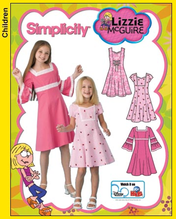 Simplicity Child and Girl Dress 3902