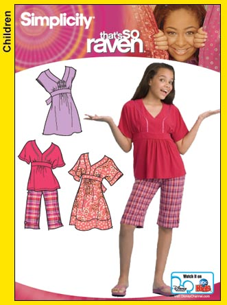 Simplicity Raven, Dress 3904