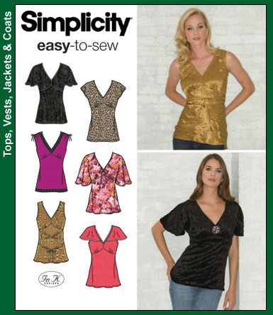 Simplicity Easy To Sew 3918