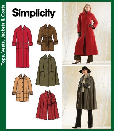 Simplicity Misses Coat 3959