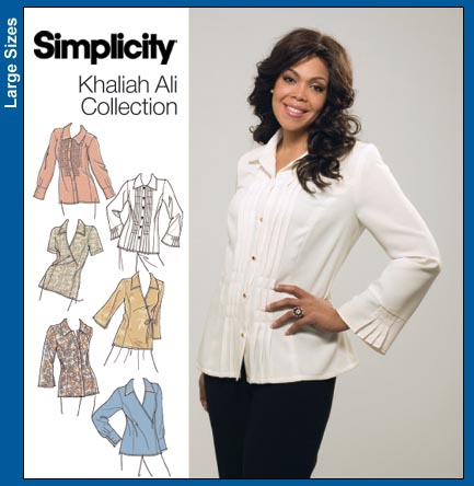 Simplicity K.Ali Plus Size Shirts 3990