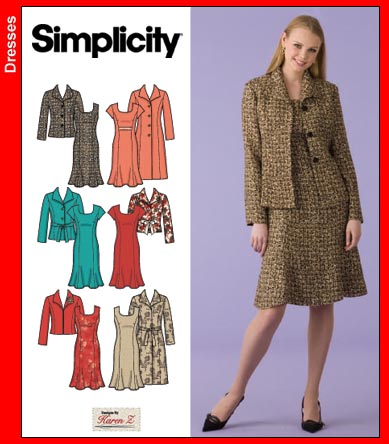 Simplicity Dress and Coat 4014