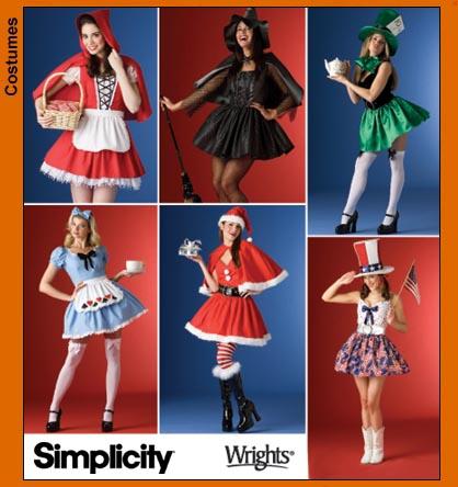 Simplicity Misses Costumes 4015