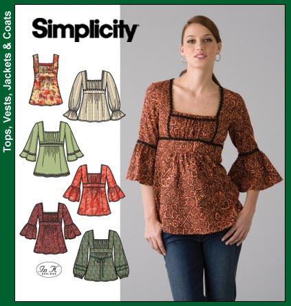 Simplicity Misses Tunic Tops 4022