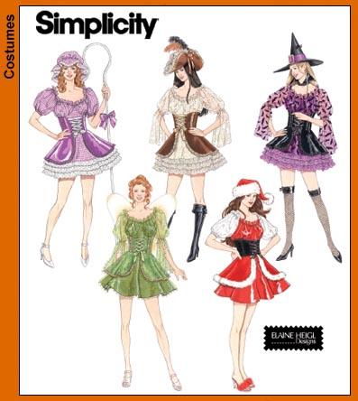 Simplicity Misses Costumes 4046
