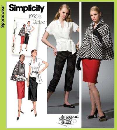 Simplicity 1950's Wardrobe 4047
