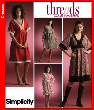 Simplicity Misses' pullover dress 4072