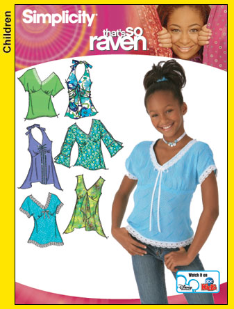 Simplicity That's So Raven Tops 4163