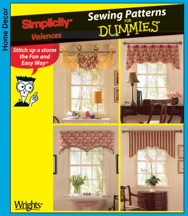 How to Sew Curtains and a Valance - All Free Crafts