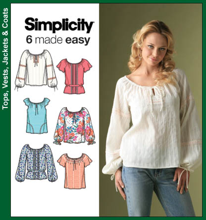 Simplicity Misses Tops 4177