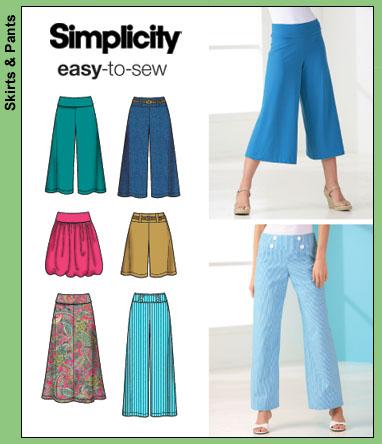 Simplicity Bubble Skirt 4237
