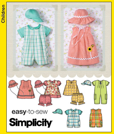 Simplicity Easy to Sew 4243