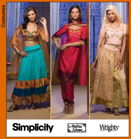 Simplicity Misses Costumes 4249