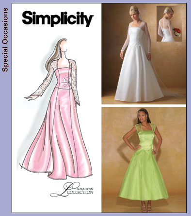 Simplicity Bridal gown 4258