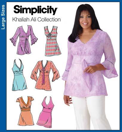 Simplicity Khaliah Ali tunics 4277