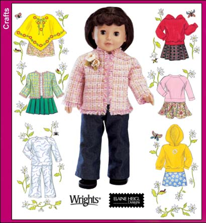 Simplicity 18 inch Doll Clothes 4297
