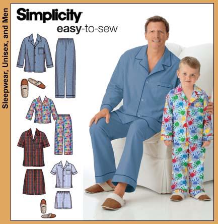Simplicity Boys/Mens PJ 4381