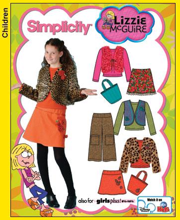 Simplicity Lizzie McGuire 4439