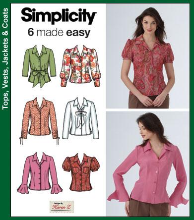 Simplicity Misses Shirt 4487