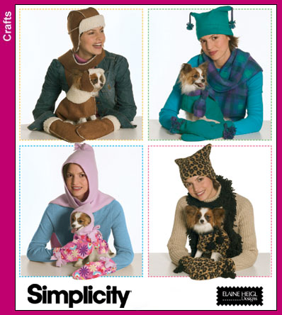 Simplicity Fleece Dog Clothes 4780