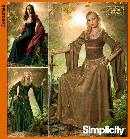 Simplicity Misses' Costumes 4940