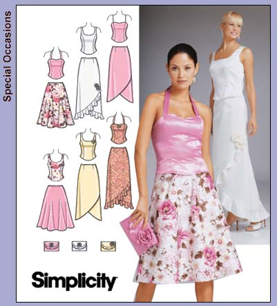 Simplicity Evening Gown 4990