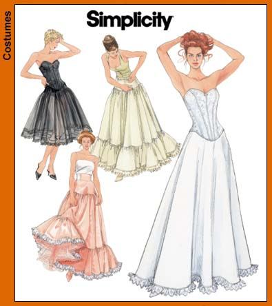 Simplicity Misses' Lingerie 5006