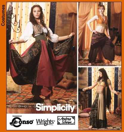Simplicity Belly Dancing - Renaissance 5359