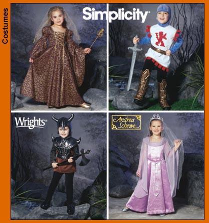 Simplicity Child's costume-princess dress 5520