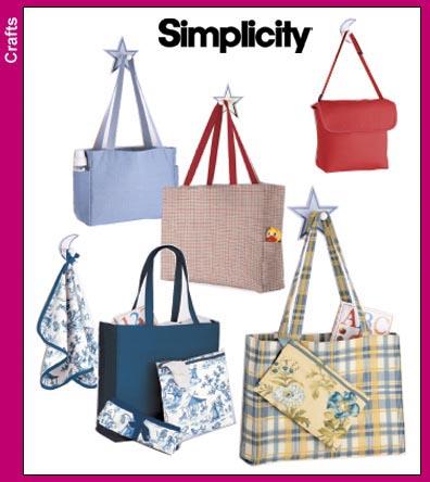 Simplicity Diaper Bag in Three Sizes 5527