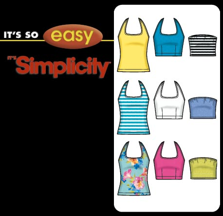 Sewing Patterns Tops Easy Sewing Pattern Tube Top