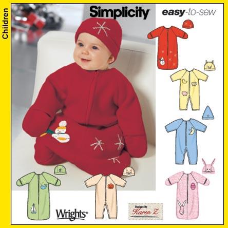 Simplicity Babies' Hats 5720