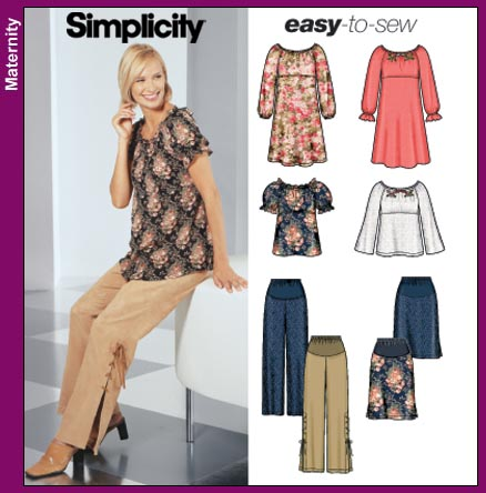 Simplicity Maternity separates 5756