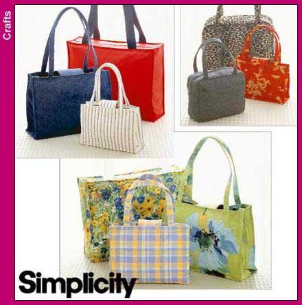 Simplicity Handbags and Tote 8331