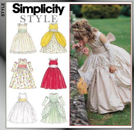 Simplicity Child Dress 8953