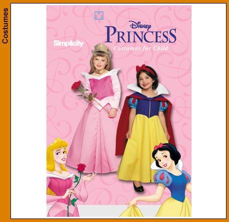 Simplicity Princess Costumes 9384