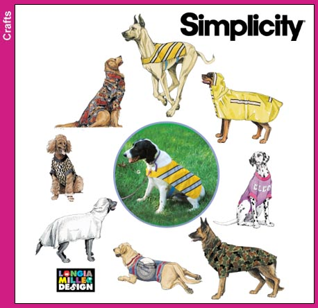 Simplicity  Large Dog Coats 9520