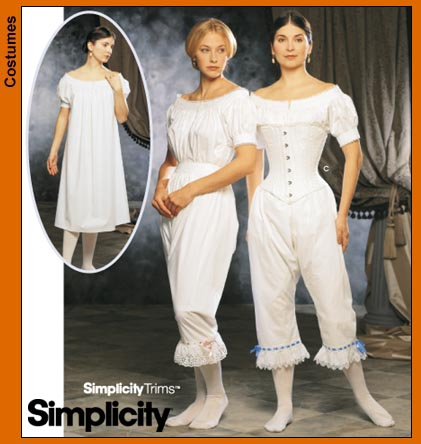 Simplicity Civil War Undergarments 9769