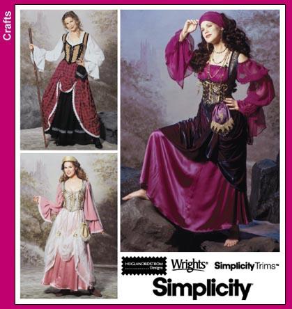 Simplicity Bodice 9966