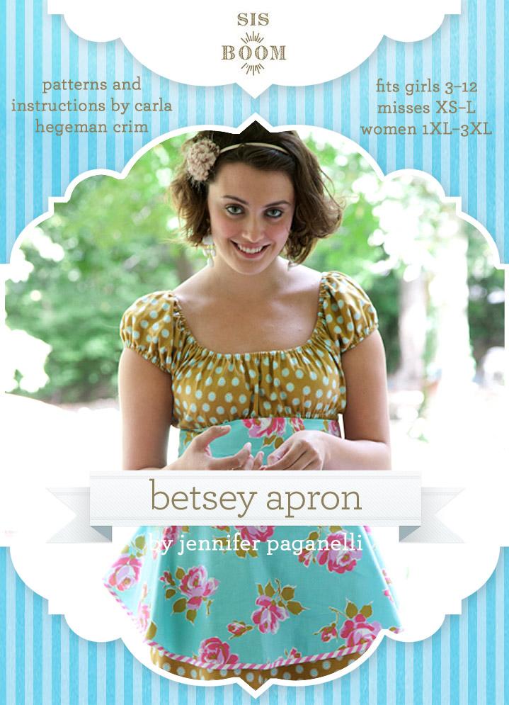 Sis Boom Betsey Apron Betsey Apron