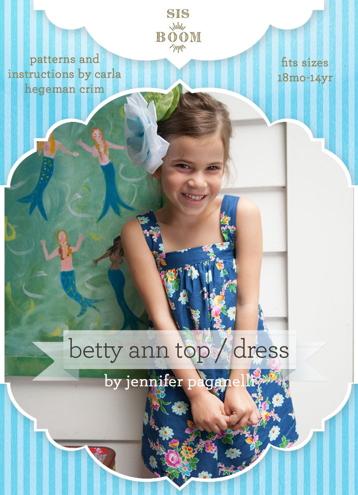 Sis Boom BettyAnn Top and Dress BettyAnn Top and Dress