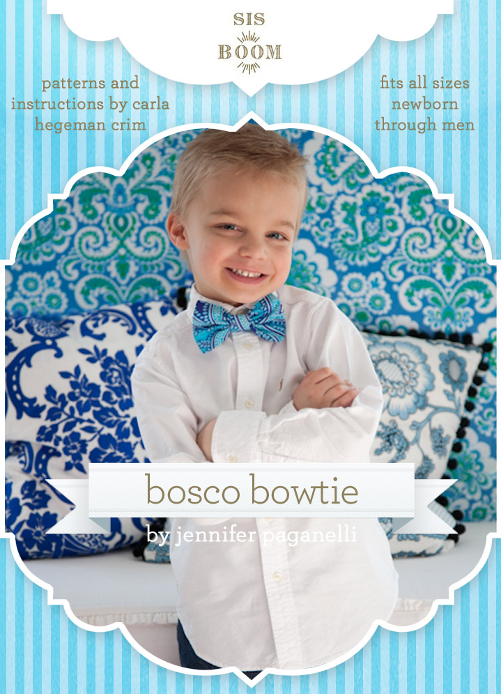 Bosco Bowtie Downloadable Pattern