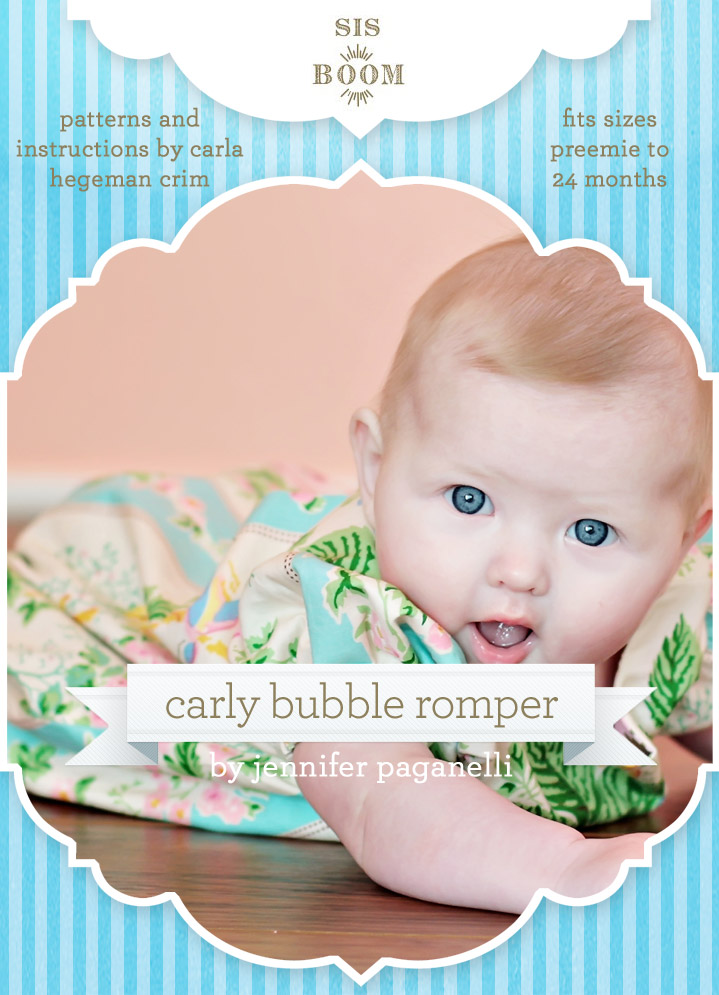Sis Boom Carly Bubble Romper Carly Bubble Romper
