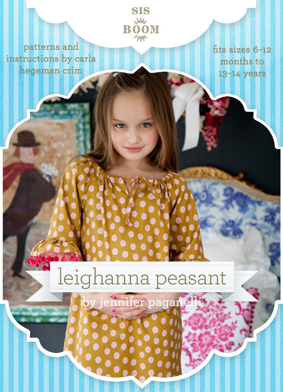 Sis Boom Leighanna Peasant Top Leighanna Peasant Top