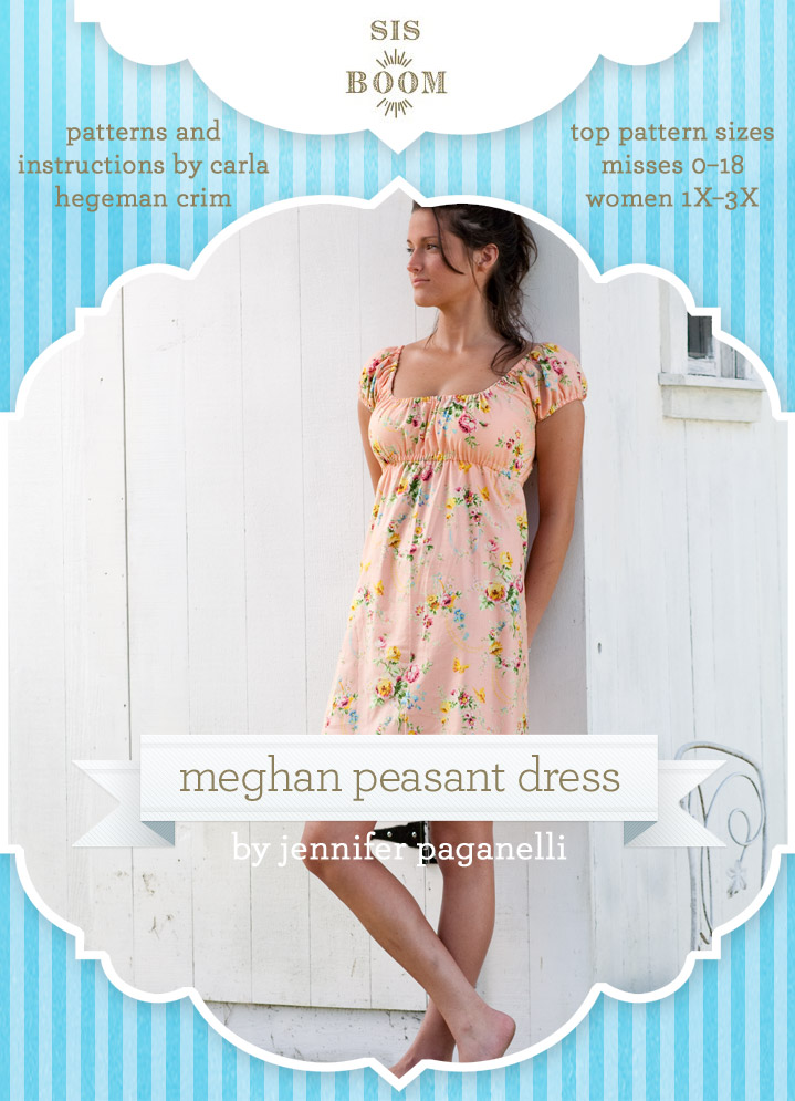 Sis Boom Meghan Peasant Dress Meghan Peasant Dress