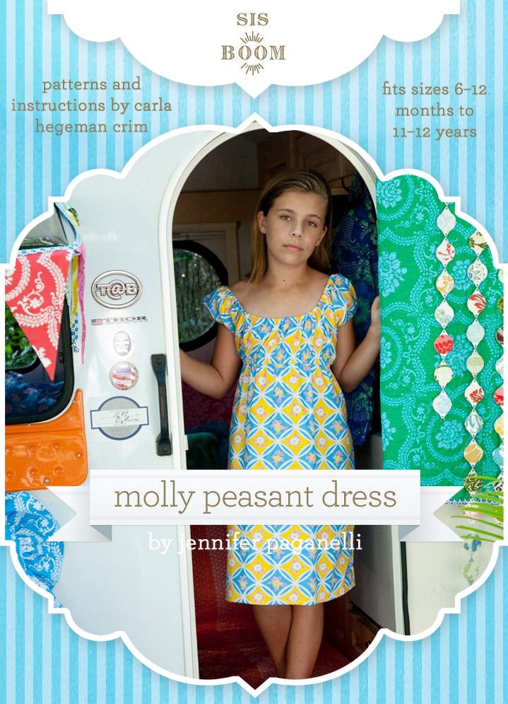 Sis Boom Molly Peasant Dress Molly Peasant Dress