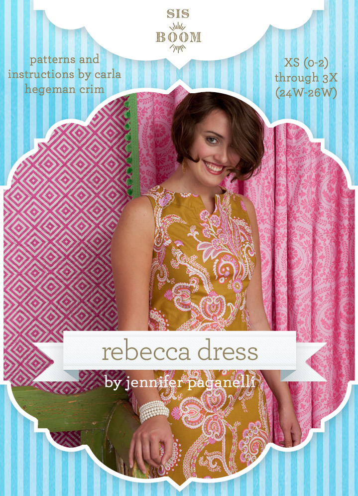 Sis Boom Rebecca Dress Downloadable Pattern