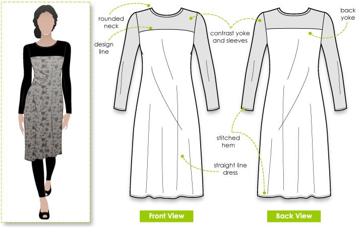 StyleArc Laura Knit Dress Laura Knit Dress