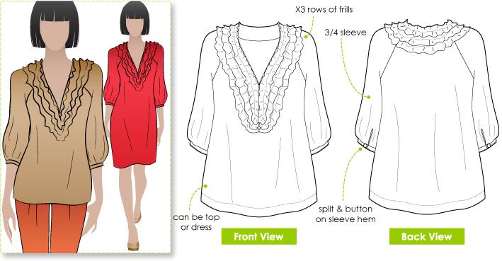 StyleArc Lexley Blouse/Dress Lexley Blouse/Dress