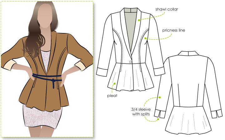 StyleArc Marni Ponti Jacket Marni Ponti Jacket